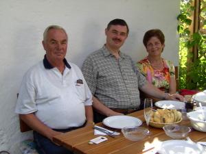 Helmut, Mario und Ilona